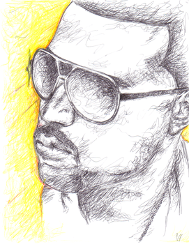 Kanye West by Slim-Shorty