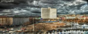 Murmansk - Russia Panorama HDR by evrengunturkun