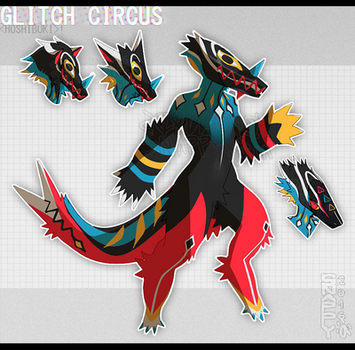 HB - Glitch Circus [CLOSED] by BackwardsSnappy