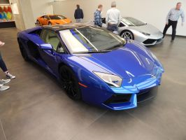 2016 Lamborghini Aventador LP700-4 Roadster by TheHunteroftheUndead