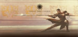 SpeedPaint: Oberyn Martell, the Red Viper of Dorne by nell-fallcard