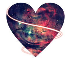 Galaxy Heart Png by MaddieLovesSelly