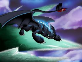Toothless - httyd2 by Nami-v