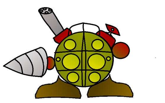 Kirby Styled Big Daddy by Re-evolution360