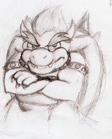 Bowser by t00littletim3