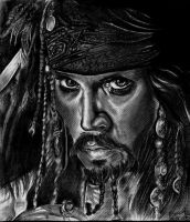 Jack Sparrow by Vioolett-V