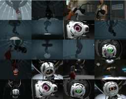 Portal 2 - Wallpaper Pack by DeviantDolphinART