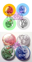Dragon Buttons by AceroStudios
