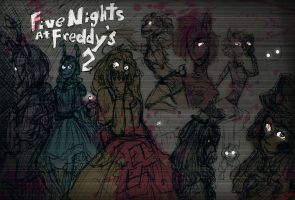 Five Nights at Freddy's 2 Electric Boogaloo by Ninja-Neko-Aru