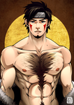 Shirtless Ninja : Kiba by greggileano