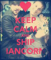 .: Keep Calm and Ship Iancorn :. by ItamiPonPon