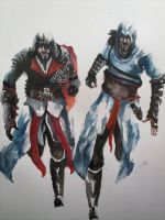 Brothers Assassins by wildpassion