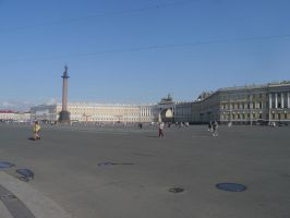 Palace Square Panorama by Party9999999