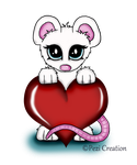 Valentine Mouse by PeziCreation