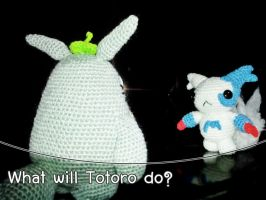 Amigurumi - What will Totoro do? by TeaTlme
