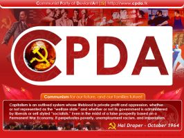 CPDA's Wallpaper by delatorre-politik