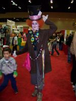 Megacon 2010- Mad Hatter by Fruits-Punch-Samurai