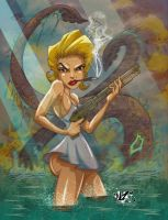 Marlyn on the Hunt by CaziTena