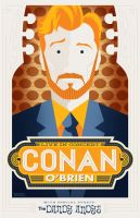 "Conan O'Brien ""Be Cool My Babies!"" by Weidel"