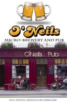 O'Neils Menu by xsharezx