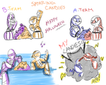 Sharing Candies by penguinsfan90