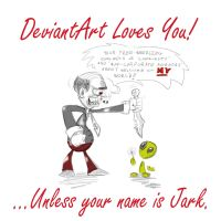 Deviant Art Loves You by DaSchwartz