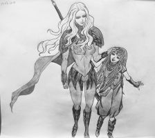 Teresa and Clare by gothicmaster1988