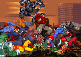 Sprite Work: AF RIP Doc Valiant by SXGodzilla