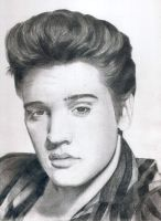 Elvis Presley by 7gnehzed
