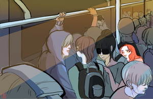 Cramped Much? by HKezza
