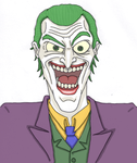 The Joker... Again by Whosflyingthing