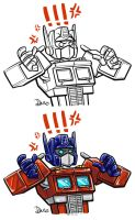 Angry Optimus is Angry by DoodleWEE