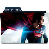 Man Of Steel icon by jithinjohny