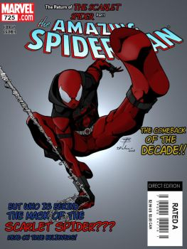 The Scarlet Spider Returns by Dante424325