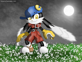Klonoa Night by plushdragon