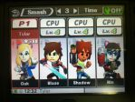 StarCats Joins the battle! (Super Smash Bros 3Ds) by Blinx3megachanel