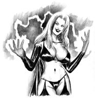 Lady Death Doth Protest 2 by cluedog