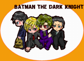 THE DARK KNIGHT CHIBI by pink-snow