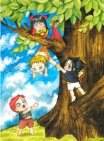 Saving naruto by Archie-The-RedCat
