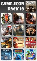Game Aicon Pack 10 by HarryBana