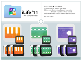 iLife '11 by rockingdead