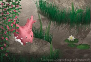 Good Morning Corsola! ^.^ by Cashpawz