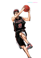 Kagami Taiga - Render by Rocchi91