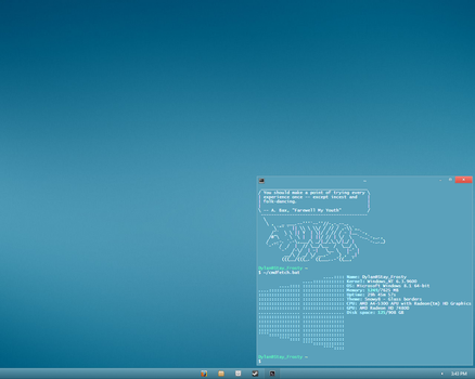 And Windows 8.1... by CirnoTheFrosty