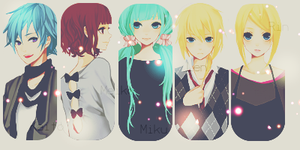 Vocaloid style by Honney-chan