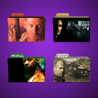 D Movie Folder Icon Pack by Kliesen