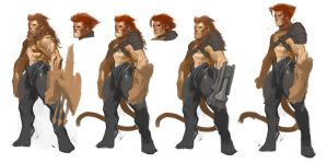 Lion-O sketches02 by Ubermonster