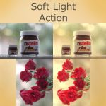 Free Soft Light PS Action by aoao2