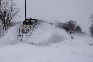 Spitting Snow by Trainman51