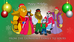 Lionheart Holiday Wallpaper by BennytheBeast